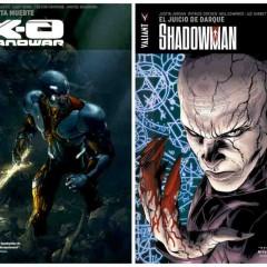 'X-O Manowar vol.3 & Shadowman vol.2', punto y seguido para unos tebeos muy valientes