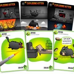 Exploding Kittens revienta Kickstarter