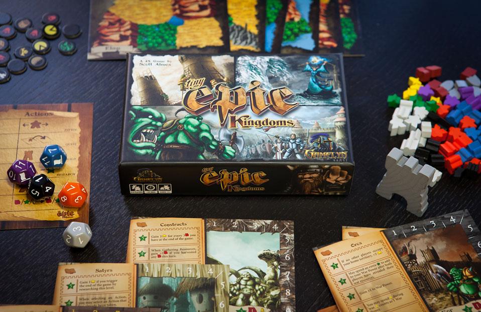 Tiny Epic Kingdoms Deluxe