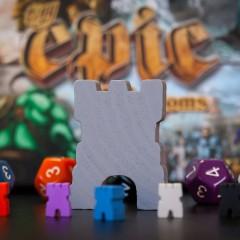 Pequeños grandes reinos, reseña de Tiny Epic Kingdoms (Deluxe)