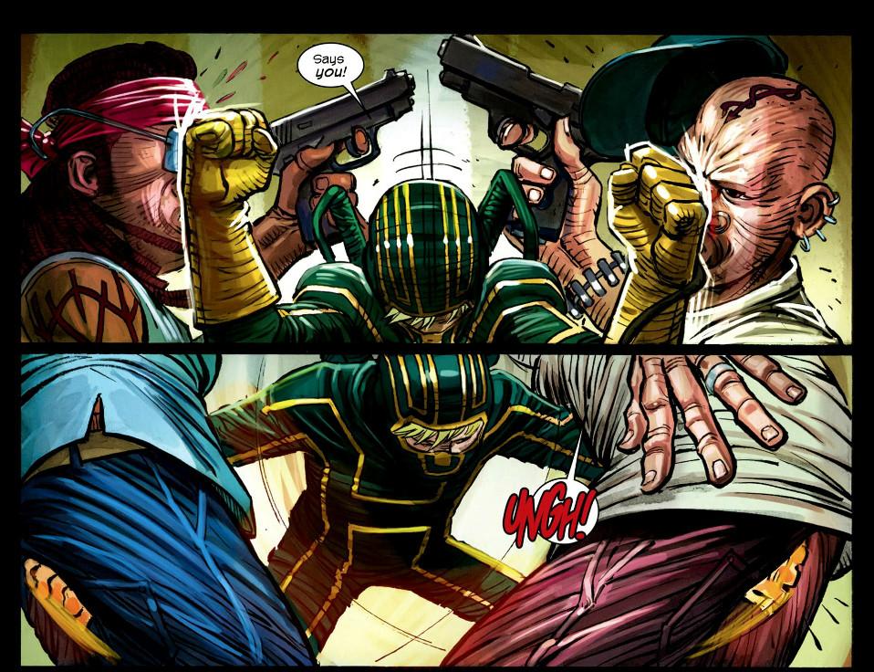 Kick-Ass 3 interiro