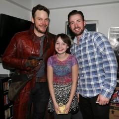 Superhéroes solidarios versión Iron Man, Star Lord y Capitán América