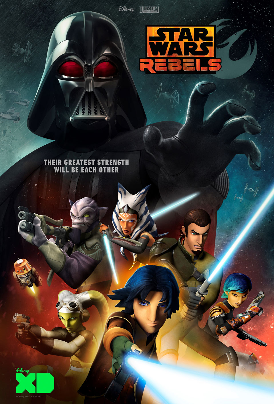 Star Wars Rebels Season 2 Poster