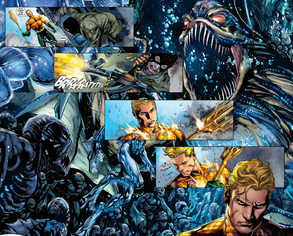 Aquaman interior