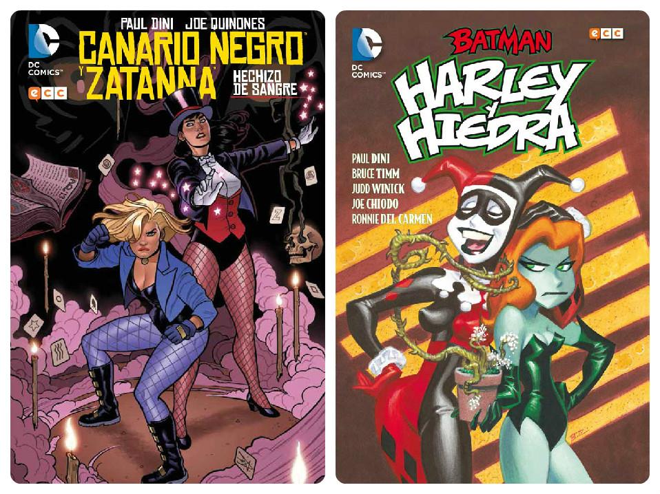 Feminas DC portadas