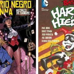 'Canario Negro y Zatanna' & 'Harley y Hiedra', especial féminas del Universo DC