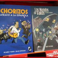 'Los mundos de Valken' y 'Chorizos: atraco a la española', la última propuesta de Grafito Editorial