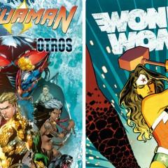 'Aquaman & Wonder Woman', en lo alto del panteón