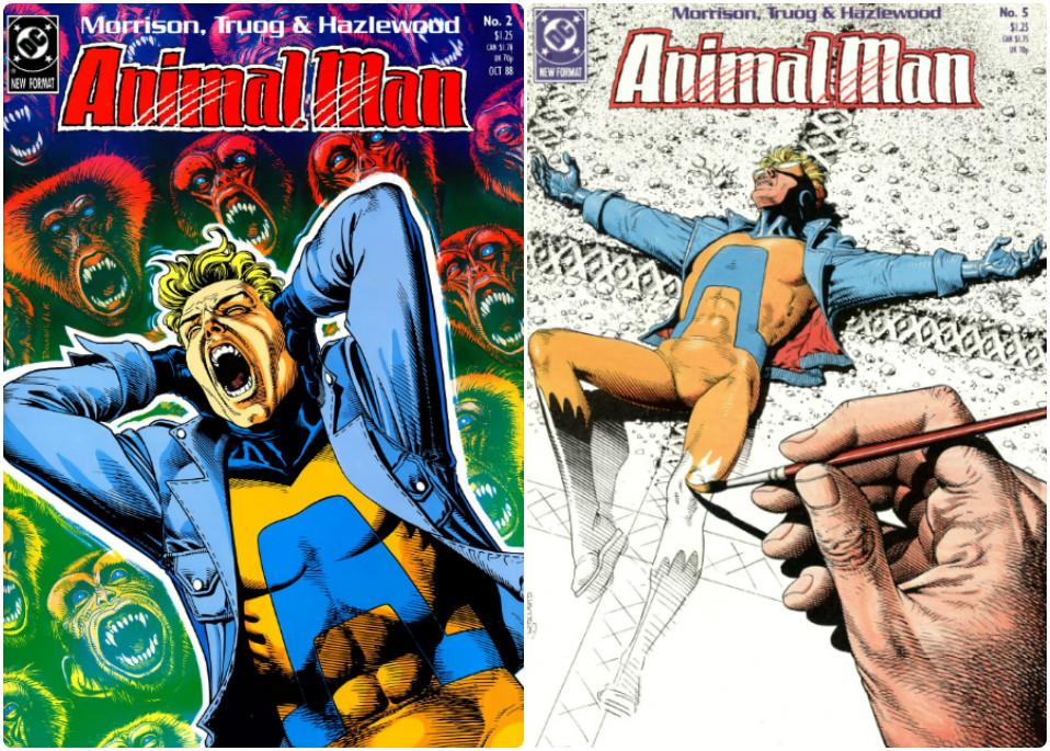 Animal man portadas