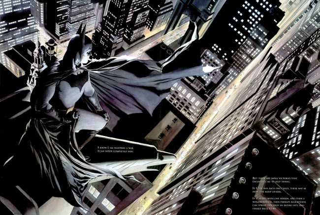 Batman_War on crime_paul dini_alex ross_05