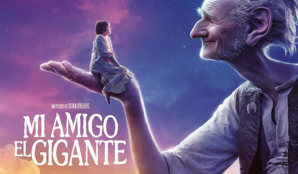 Mi amigo el gigante poster