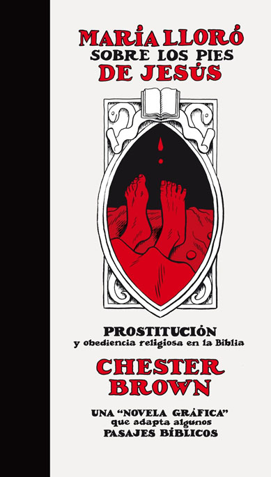 Chester Brown - María lloró sobre - cubierta
