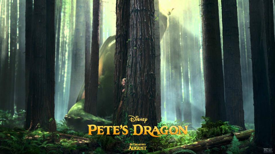 Peter y el Dragon poster