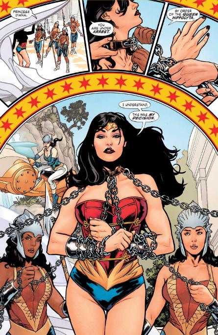Wonder Woman Tierra Uno interior