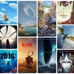 16 del 2016 (IV): el año de Disney