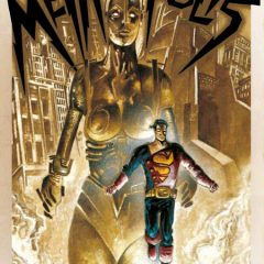 'Superman/Batman/Wonder Woman: Metropolis', expresionismo superheroico