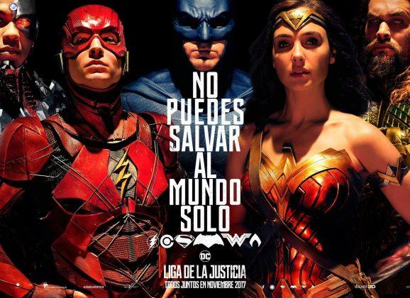 Ni uno, ni dos, ni tres…cuatro minutos de trailer de 'Justice League'