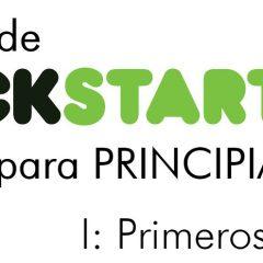 Kickstarter para principiantes (I): primeros pasos