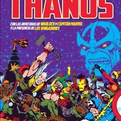 'Marvel Gold: La Saga de Thanos', los primeros pasos del Titán Loco de la mano de Starlin