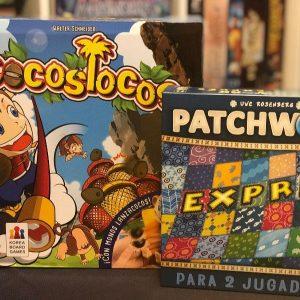 'Cocos Locos' & 'Patchwork Exprés', diversión por partida doble