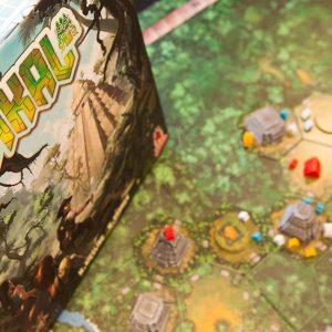 'Tikal', meeples exploradores en la jungla hexagonal