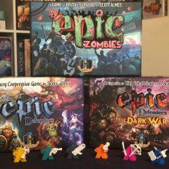 'Tiny Epic Defenders & Tiny Epic Zombies', cuando lo pequeño es muy GRANDE