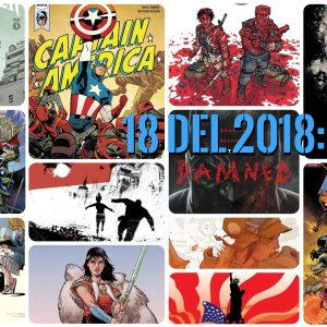 18 del 2018 (I): el cómic estadounidense