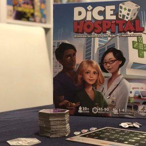 'Dice Hospital', ¡doctor, este dado necesita RCP!