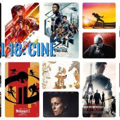 18 del 2018 (IV): en los cines