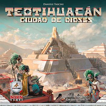 Teotihuacán: Ciudad de Dioses (Maldito Games)