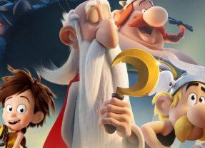 'Astérix y el secreto de la poción mágica', Tutatis a medio gas