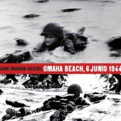'Omaha Beach, 6 junio 1944', leyenda de la fotografía