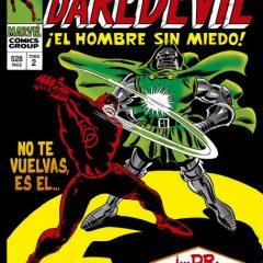 'Marvel Gold Daredevil Volumen 2: La Prisión Viviente', con «C» de Colan