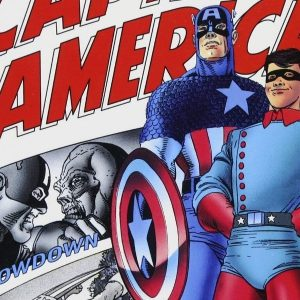 'Las aventuras del Capitán América, centinela de la libertad', película en viñetas