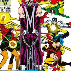 'Marvel Gold La Imposible Patrulla-X Volumen 6: El Juicio de Magneto', oro en viñetas