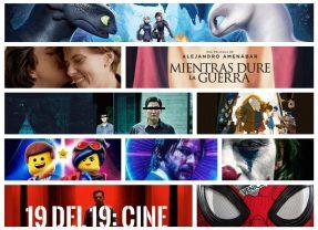 19 12 del 19 (y IV): en los cines
