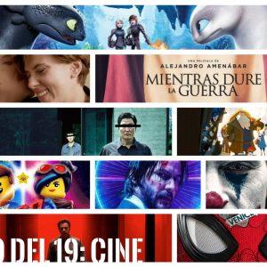 <s>19</s> 12 del 19 (y IV): en los cines
