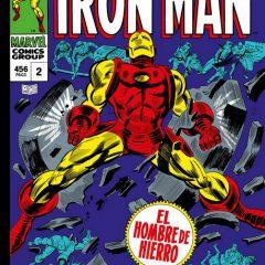 'Marvel Gold Iron Man Vol. 2: ¡Por la Fuerza de las Armas!', no hace falta mucho más si Colan dibuja