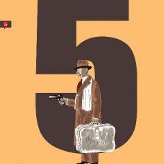 '5 es el número perfecto', sangre a sangre llama