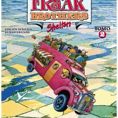 'Los Fabulosos Freak Brothers Integral 2', chusta con arte