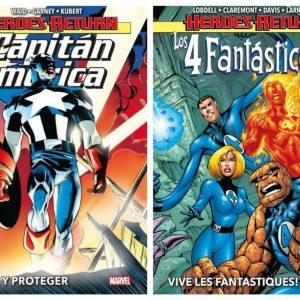 Los héroes volvían a casa: Capitán América y 4F