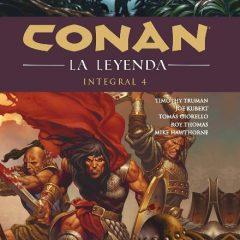 'Conan: La leyenda. Integral 4', ¡¡ponga más cimmerio, por favor!!