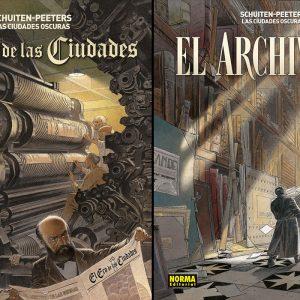 'Las ciudades oscuras. El eco de las ciudades & el Archivista', maravillosos complementos