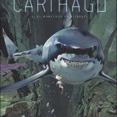 'Carthago 3. El monstruo de Yibuti', cambio de dibujante, mismo nivel