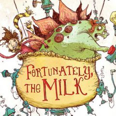 'Fortunately, the Milk', Gaiman a través del espejo