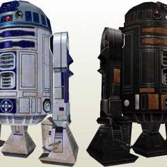 Instrucciones para un R2-D2 de tamaño real en papel [Frikada de la Semana]
