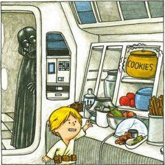 'Darth Vader e hijo': la paternidad en una galaxia muy, muy lejana
