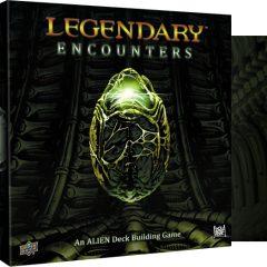 Legendary Encounters, el primero de una linea de juegos de cartas basados en Alien, Depredador y Firefly