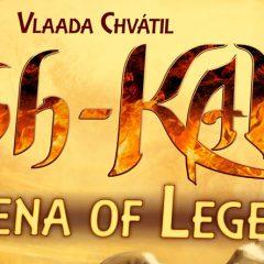 Tash-Kalar: Arena de Leyendas de Vlaada Chvátil, pura estrategia